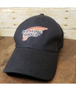 Red Wing Shoes Black Ball Cap Strapback Hat - NEW - $15.47
