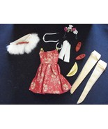 Vintage Ideal 1960's Tammy Fur 'n' Formal Outfit Complete and Excellent - $56.09