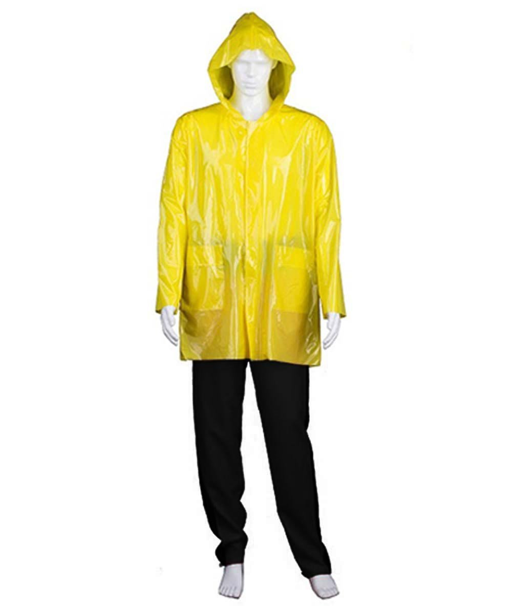 Adult Men's Costume for Cosplay IT Georgie Raincoat HC-367