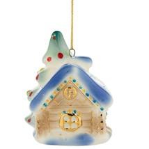 Christmas tree toy porcelain christmas decoration glass handmade - $42.51