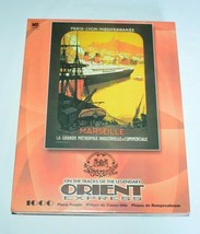 """Orient Express Vintage Marseille Travel Poster 1000 piece 27"""" x 21"""" Puzz... - $24.63"""