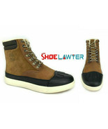 """Timberland Men's 6"""" Warm Lined Medium Brown Leather Snow Boots A1Z47 - $134.89"""