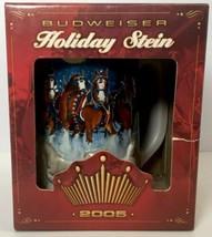 2005 Budweiser Holiday Stein - CS628 - $18.99