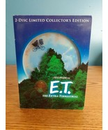 ET DVD 2002 2-Disc Set 20th Anniversary Collectors Edition - $4.90