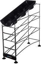 San Jamar C8504WF Wireworks 3 Tier Cup Dispenser with Lid Tray and Side ... - $117.51
