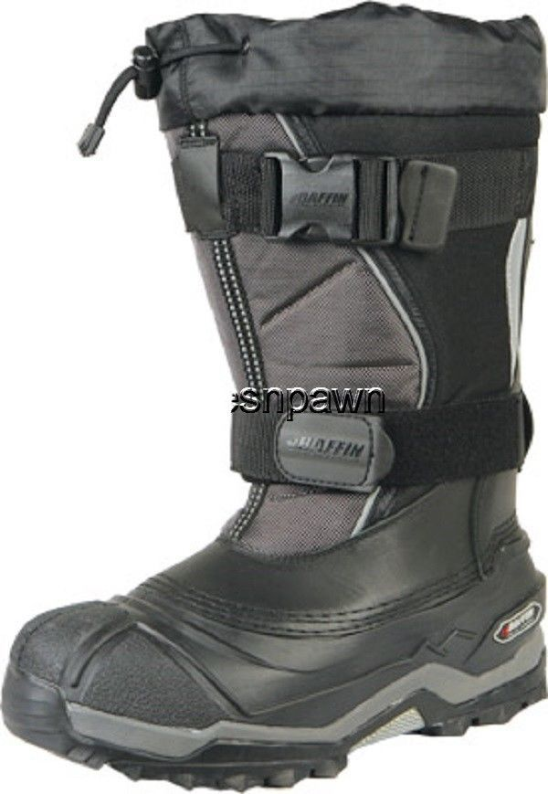 New Mens Size 10 Baffin Selkirk Snowmobile Winter Snow Boots Rated -94 F