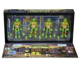 NECA 2016 SDCC TMNT Arcade Game 4-Figure Set Teenage Mutant Ninja Turtles Sealed - $126.72