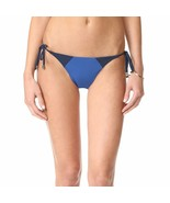 Heidi Klum Savannah Sunset Bikini Bottom, Black Iris/Monaco Blue, XS - $22.05