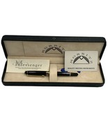Morritz Vintage Fountain Pen Iridium Point Box And Papers Collectable Ge... - $441.13
