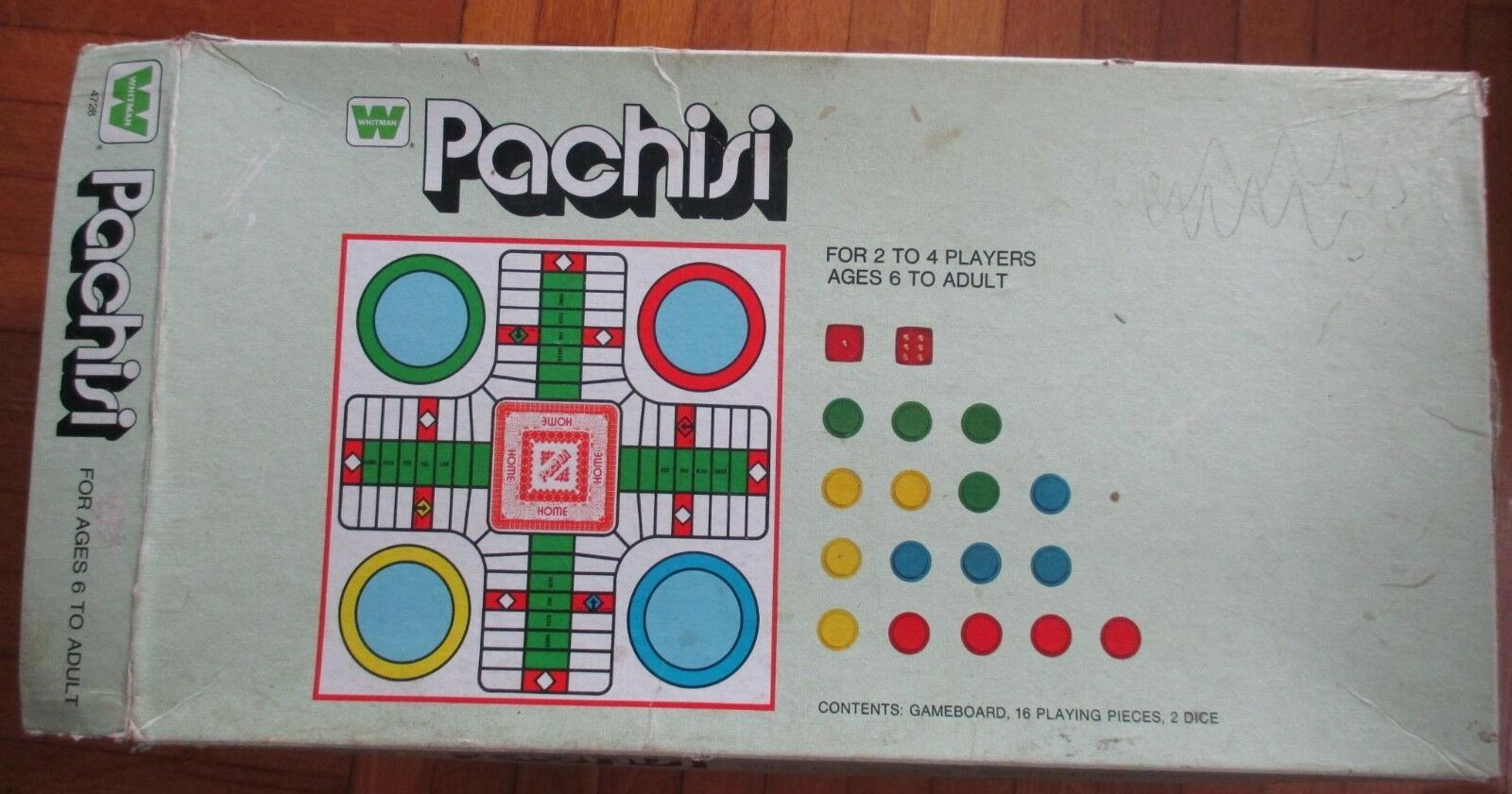 One Vintage Whitman Pachisi Game, incomplete + Two Selchow & Righter Boards image 8