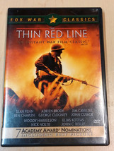 The Thin Red Line 2001 DVD Video Movie Fox War Classics Terrence Malick - $1.97