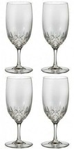 WATERFORD LISMORE ESSENCE WATER Glass 2 Pairs (4) Glasses #149953 - $226.36