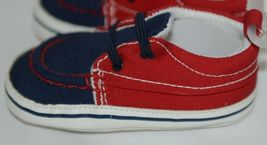 Baby Brand Red White Blue 309067 Pre Walker Infant Shoes 12 to 18 Months image 3
