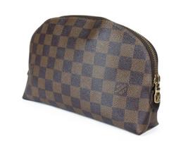 Louis Vuitton Damier Canvas Cosmetic Pouch Bag LP2571 - $269.00