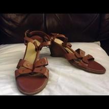 Liz Claiborne Leather Sandals Women's 11 M - $12.00