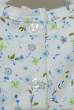 SnoPea Two Piece Flowered Sleeveless Shirt Light Blue Pants Size 9 months image 4