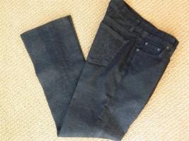Ralph Lauren Black Label Jeans Crystal Pony On Pocket Black Denim 26 - $24.75