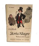 C. Collodi Storie Alegre E. Mazzanti Biblioteca Bemporad Per I Ragazzi I... - $29.69