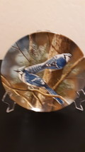 """1985 """" The Blue Jay """" by Kevin Daniel. Knowles - Fine China Plate. # 8393G - $6.99"""