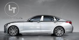 Fits Genesis 4DR Sedan Stainless Steel Pillar Posts by Luxury Trims 2015... - $85.38