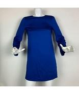 Emilio Pucci Dress Silk Royal Blue Tunic Women Sz 6 Italy - $349.99