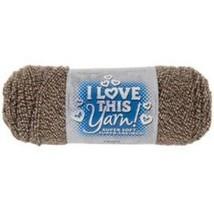 I Love This Yarn in Marled Mocha #1627751