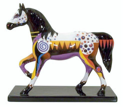 Retired 2008 Trail of Painted Ponies First Edition Trail of Honor Pony #12267