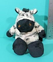 "Manhattan Toy Company Zebra 9"" Bean Bag Plush Stuffed Animal Black Strip... - $29.95"