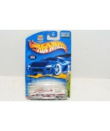 NIP 2002 HOT WHEELS HIGHWAY 35TH ANNIVERSARY # 99 EVIL TWIN DIE CAST CAR - $10.99