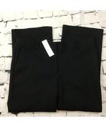 Ann Taylor Black Slacks Pants Womens Sz 12 NWT - $24.74