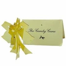 Danbury Mint 24k gold Christmas ornament vtg holiday figurine Candy Cane... - $24.14