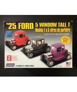 Lindberg '25 Ford 5 Window de Alto T 1/24 Kit de Modelismo 72196 Nuevo e... - $36.57