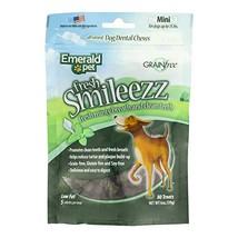 Emerald Pet - Dog Treats, Dental Chews for Bad Dog Breath, Dental Dog Treat, Sma