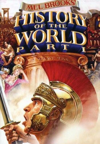 History of the World Part I Mel Brooks DVD TV First Moses Nero French Revolution