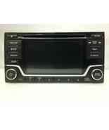 CD MP3 Sirius XM stereo. OEM radio for Nissan Leaf Sentra Versa.NEW w/ b... - $80.62