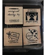 Stampin' Up! Handmade With Love II Stamp Set - $39.99
