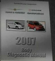 2007 Dodge Caravan Chrysler Stadt Land Körper Diagnose Procedures Shop M... - $38.06