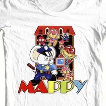Mappy t-shirt old school style retro old school arcade video game free shipping image 1