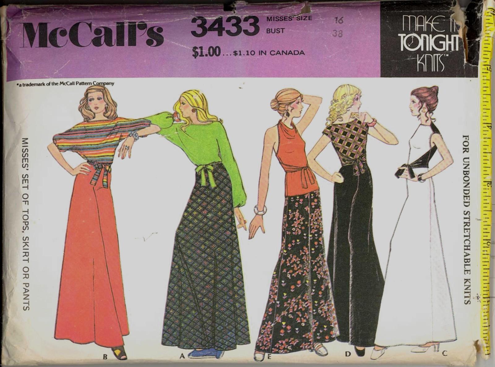 Store 66 m 3433 knits ensemble 16 1972