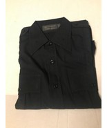 Frontline Tact Squad Uniform Tactical Shirt Black 15.5 35 Unisex Career ... - $13.20