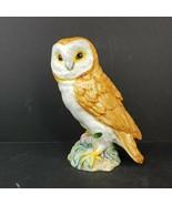 "Beswick England Owl Figurine 1046 Fine Porcelain 7 3/4"" Original Foil Sticker - $34.99"