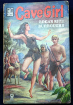 Dell Mapback #320 Edgar Rice Burroughs CAVE GIRL Blood & Violence Rule W... - $37.83