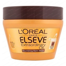 L'OREAL PARIS ELSEVE EXTRAORDINARY OIL NOURISHING  HAIR MASK - $18.69