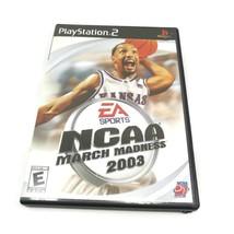 EA Sports NCAA March Madness 2003 - Playstation 2 PS2 Game w/ manual CIB - $3.95