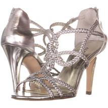 Alfani Adeena Strappy Sandals 347, Silver, 5.5 US - $29.75