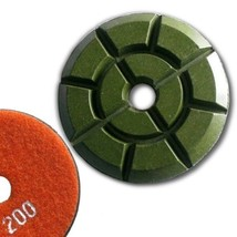 "4"" (100mm) Grit 200, Floor Polishing Pad, Wet Use for Cement - $20.20"