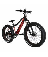 Electric Snow/Mountain Bike With Super Broad 4.0 Tyre - $2,911.65 CAD