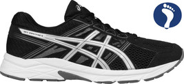 Men's Asics GEL-Contend 4 - Black/Silver/Carbon - Width: med - Running - $49.49+