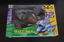 Batman Mattel BatJet Vehicle with Batman Figure Included Mattel 2003 - $18.49