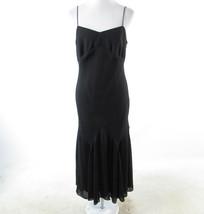 Black ANN TAYLOR spaghetti strap maxi dress 10 NWT - $34.99